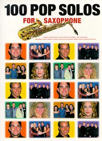 100 Pop Solos - Saxophone