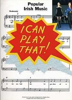 I Can Play That! Popular Irish Music - Piano Solo