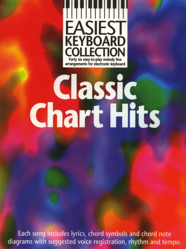 No Author - Easiest Keyboard Collection - Classic Chart Hits - Keyboard