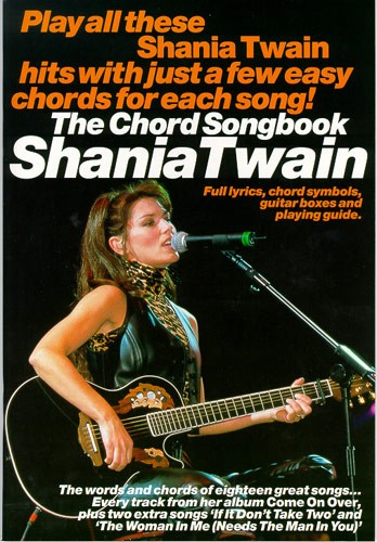 Livres De Chansons Shania Twain Partition Shania Twain