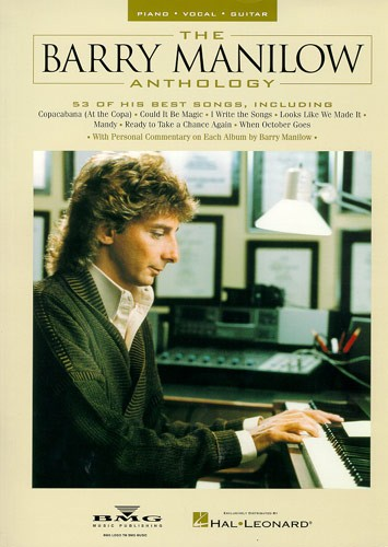 THE BARRY MANILOW ANTHOLOGY - PVG