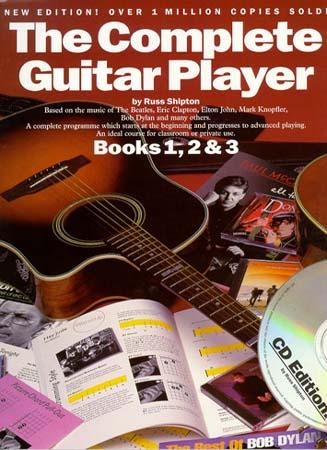 Shipton Russ - Complete Guitar Player Books - Book N°1,2,3 + Cd