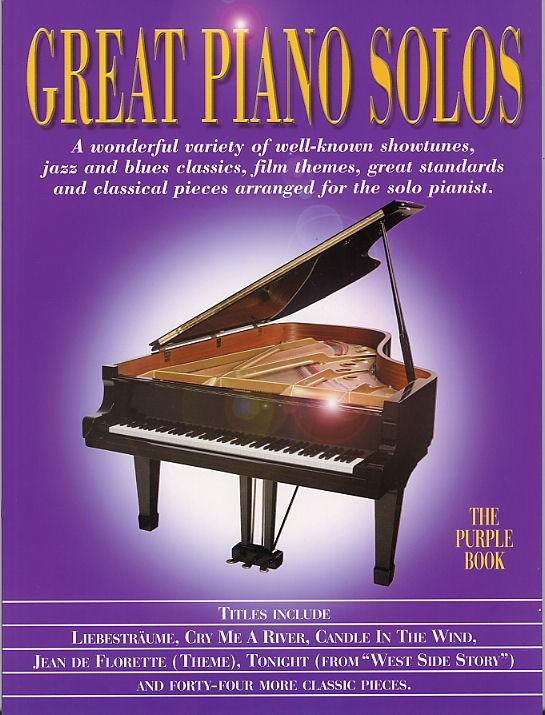 Great Piano Solos Purple- Piano Solo