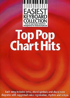 Easiest Keyboard Collection - Top Chart Hits - Melody Line, Lyrics And Chords