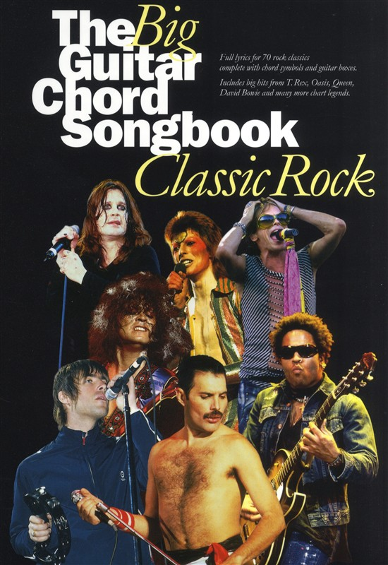 The Big Guitar Chord Songbook - Classic Rock - Lyrics And Chords