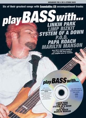 Play Bass With Linkin Park, Limp Bizkit, System.. + Cd - Bass Tab