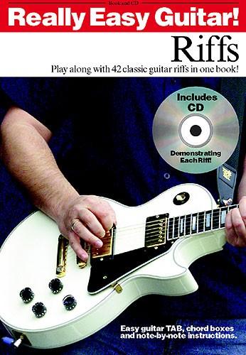 Really Easy Guitar! Riffs + Cd - Guitar