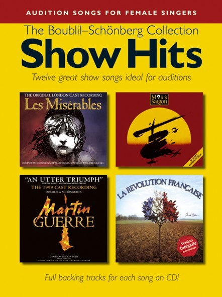 Show Hits The Boublil-schonberg Collection + Cd - Pvg