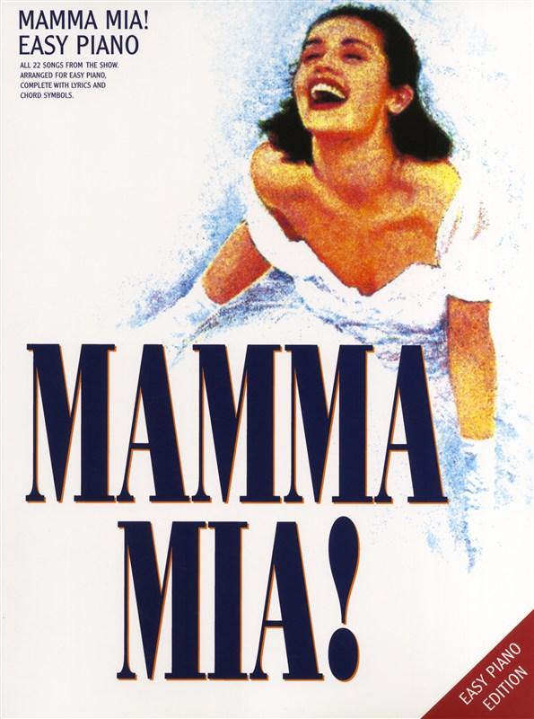 Mamma Mia! - Easy Piano - Pvg