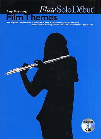SOLO DEBUT - FILM THEMES + CD - FLUTE