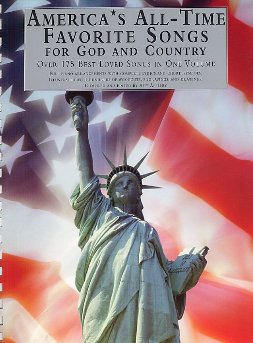 America S All-time Favorite Songs For God And Country - Piano Solo