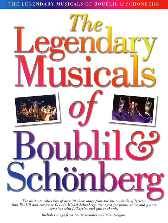 THE LEGENDARY MUSICAL OF BOUBIL AND SCHONBERG - PVG