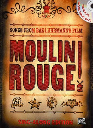 MOULIN ROUGE SING-ALONG EDITION + CD - PVG