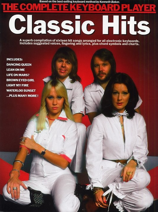 CLASSIC HITS - COMPLETE KEYBOARD PLAYER - KEYBOARD