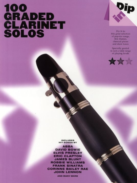 100 Graded Clarinet Solos - Clarinet