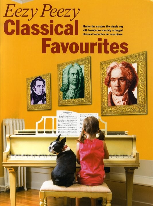 EEZY PEEZY CLASSICAL FAVOURITES - PIANO SOLO