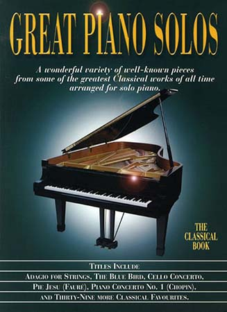 Great Piano Solos- Classical Book