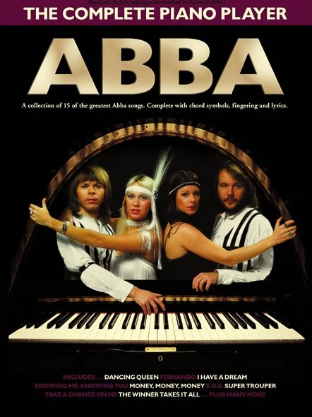 The Complete Piano Player Abba - Pvg