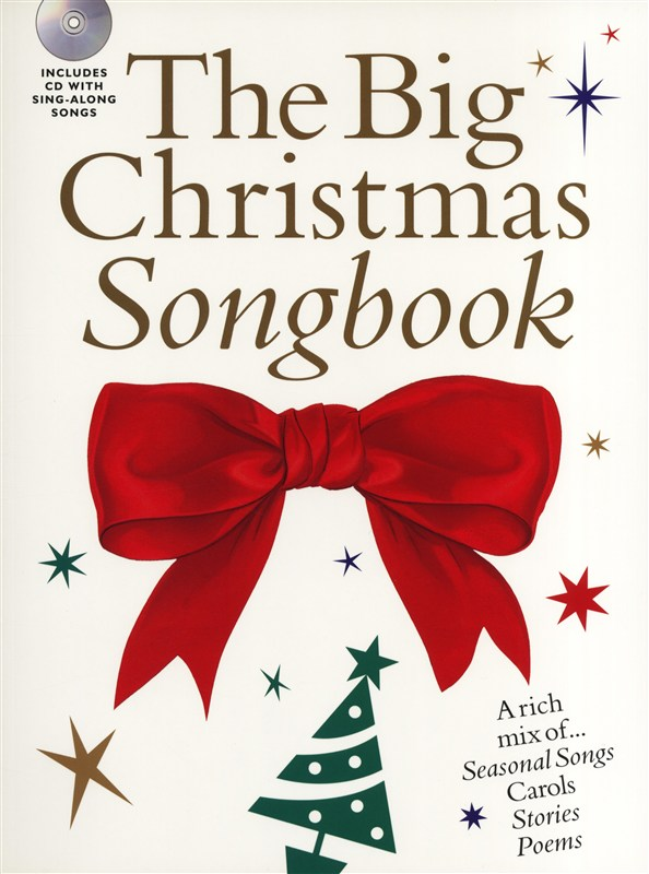 THE BIG CHRISTMAS SONGBOOK + CD - VOICE