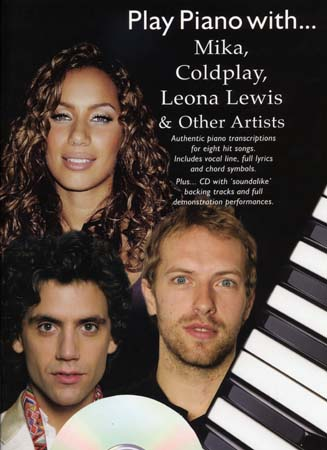 PLAY PIANO WITH MIKA, COLDPLAY, LEWIS... CD
