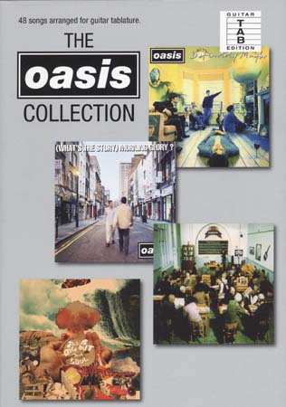 OASIS - COLLECTION - GUITAR TAB