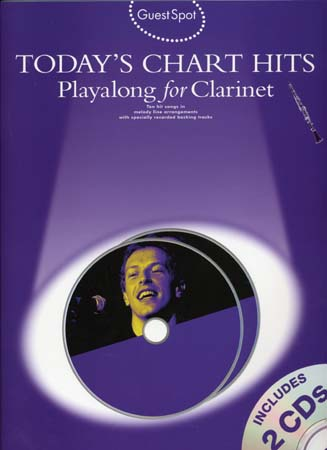 Guest Spot Today's Chart Hits Clarinet + Cd