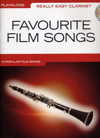 REALLY EASY CLARINET PLAYALONG FAVOURITE FILM + CD - CLARINET