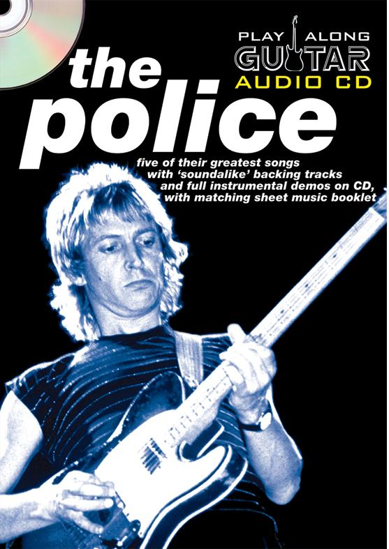 PLAY ALONG GUITAR AUDIO CD : THE POLICE