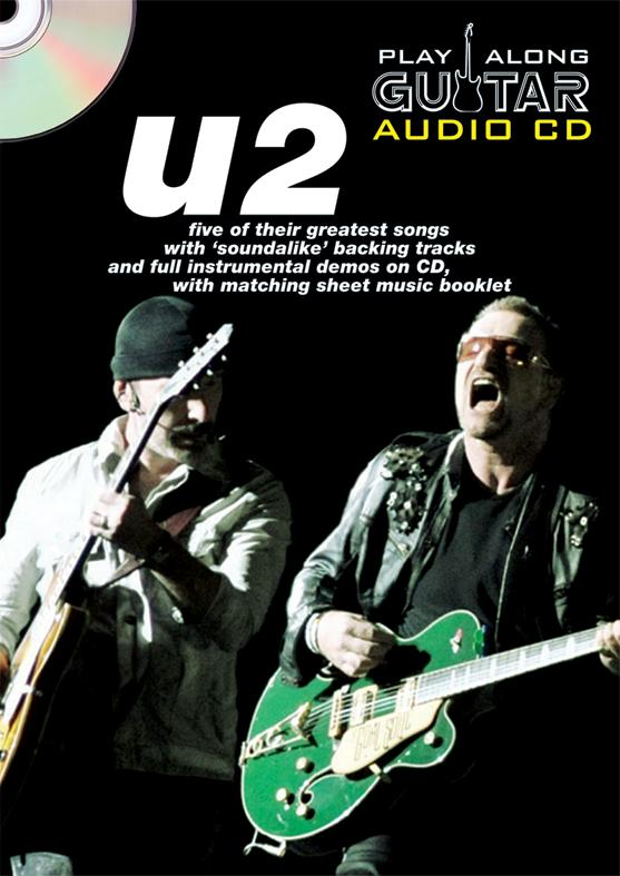 PLAY ALONG GUITAR AUDIO CD : U2
