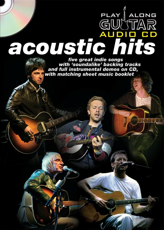 PLAY ALONG GUITAR AUDIO CD : ACOUSTIC HITS - GUITARE TAB