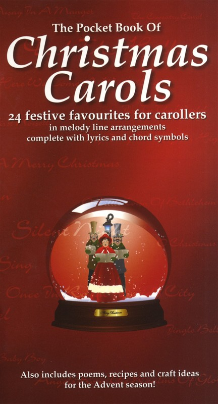 Wise publications the pocket book of christmas carols melody line lyrics and chords