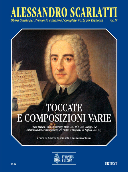 Scarlatti Alessandro - Complete Works For Keyboard Vol.4 : Toccatas And Various Compositions