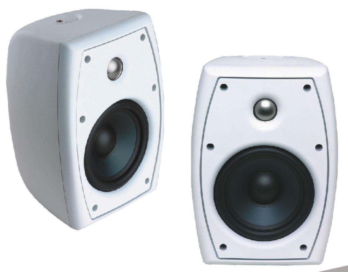 Audiopole Pole 325wh Blanc (la Paire)