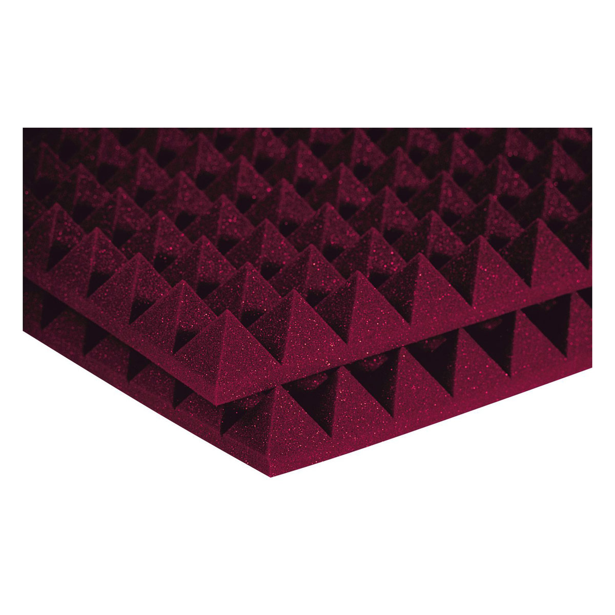 STUDIOFOAM PYRAMID BURGUNDY (SET OF 12)