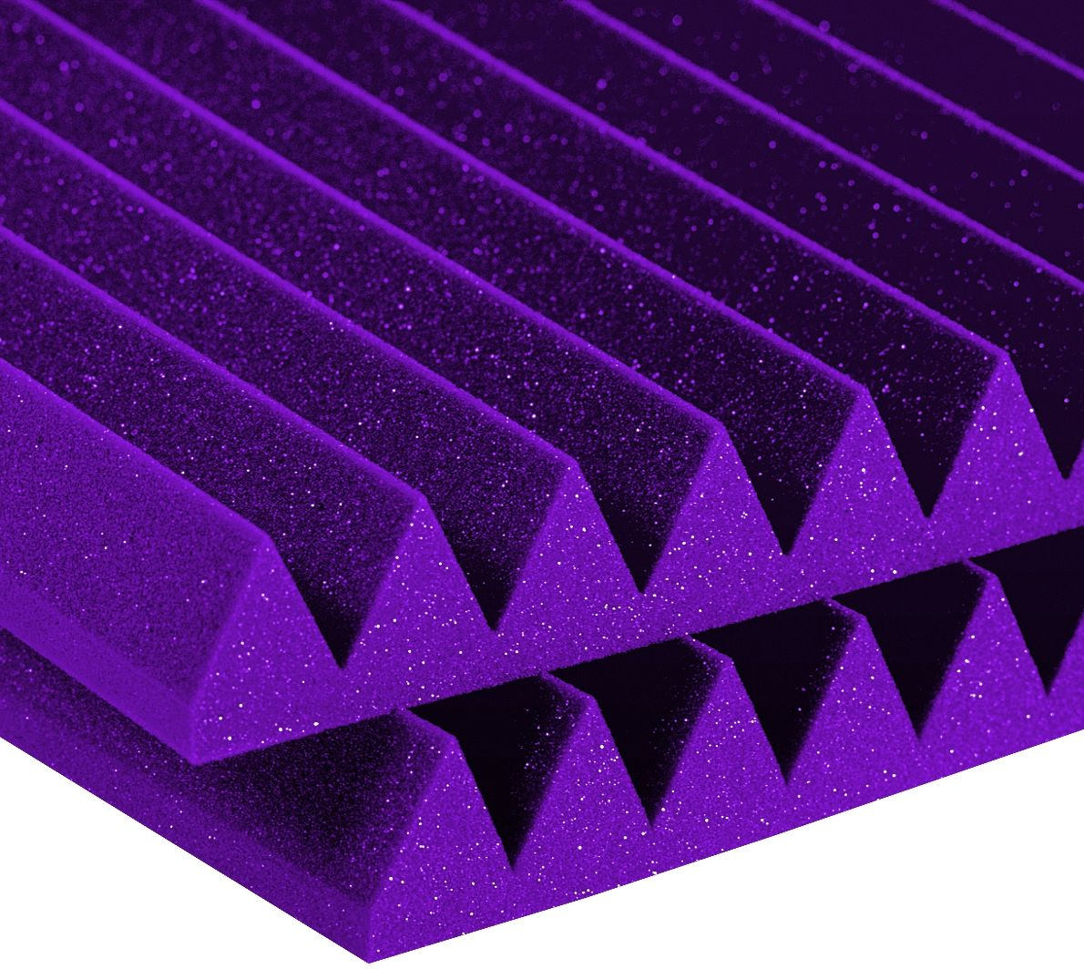 STUDIOFOAM WEDGE PURPLE (SET OF 6)
