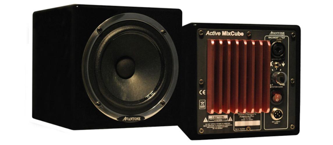 Avantone Mixcubes Active Noire (la Paire)