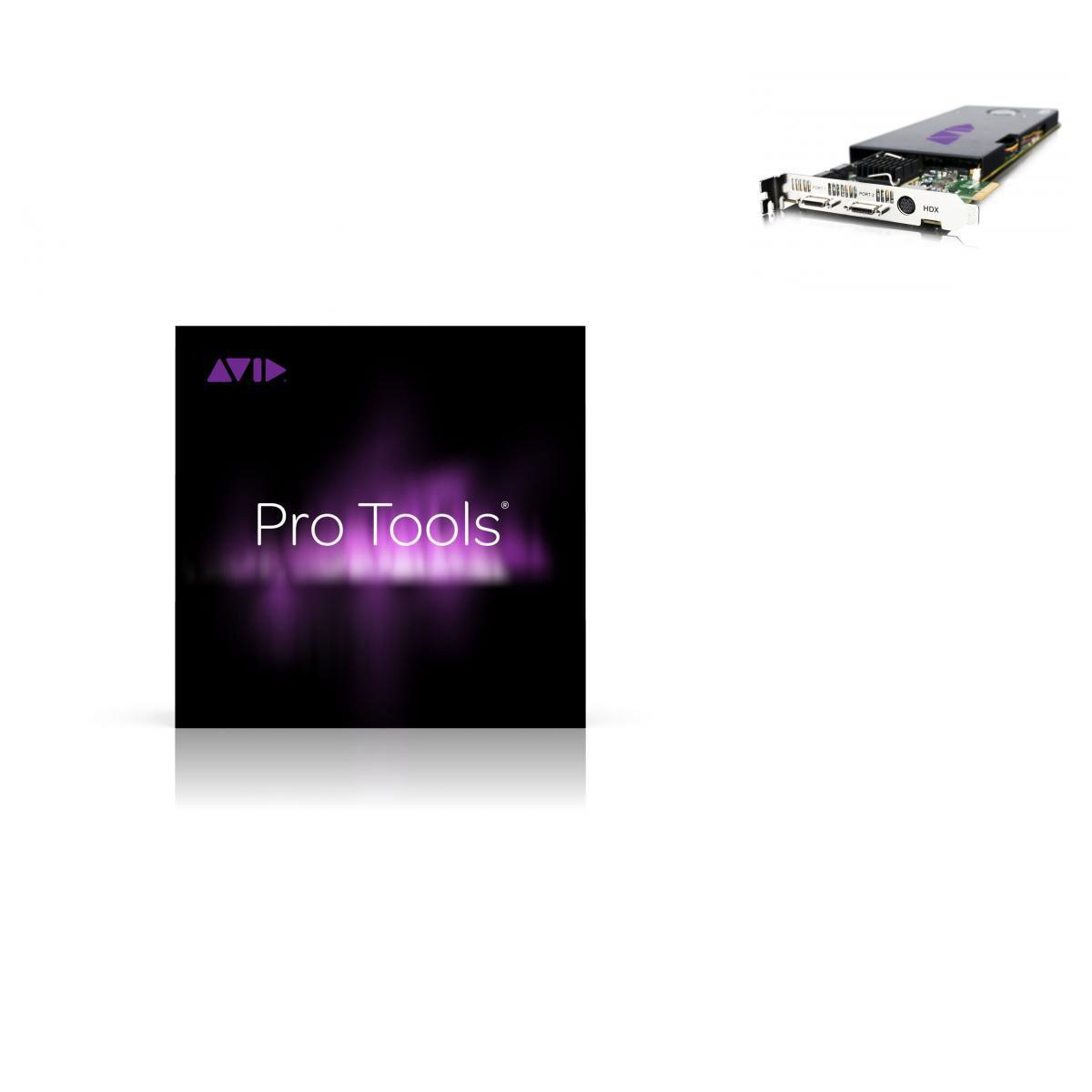 Image Carte Hdx Avec Logiciel Pro Tools Hd