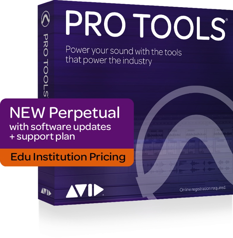 PRO TOOLS PERPETUAL LICENCE NEW INSTITUTION