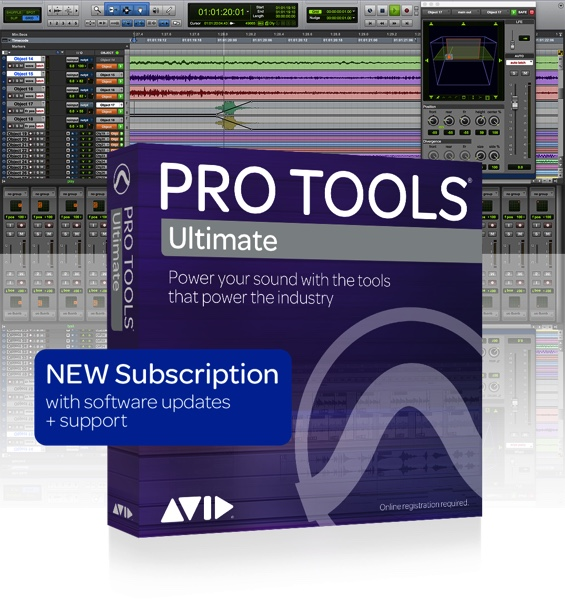 PRO TOOLS ULTIMATE - 1 YEAR SUBSCRIPTION NEW