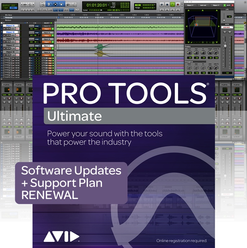 PRO TOOLS ULTIMATE RENEWAL UPDATE ET SUPPORT