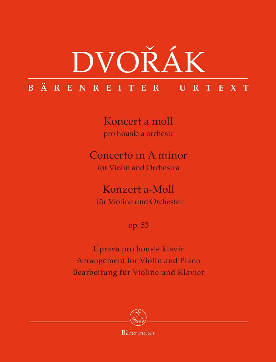 Dvorak - Violin Concerto Op.53 - Violon and Piano
