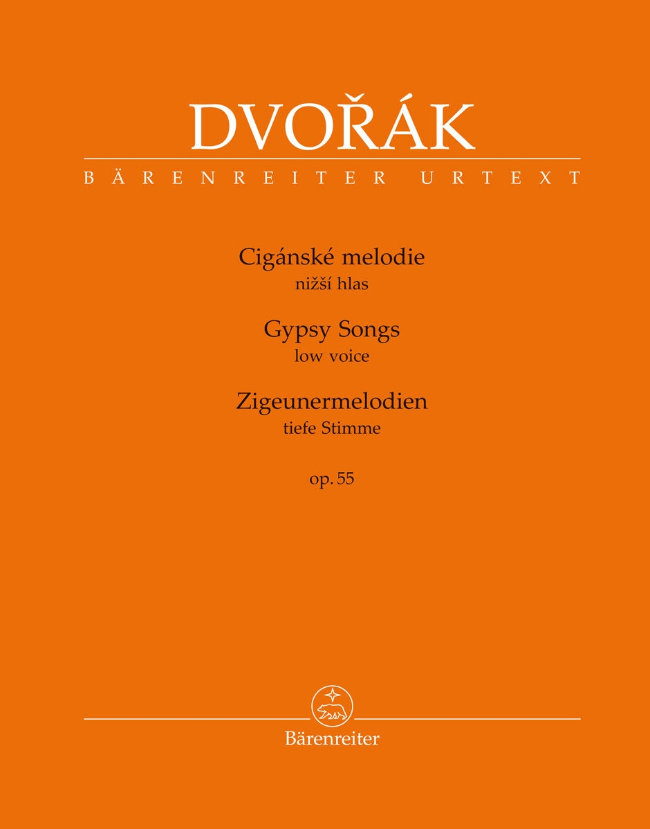 Dvorak A. - Gypsy Songs Op.55 - Voix Basse and Piano