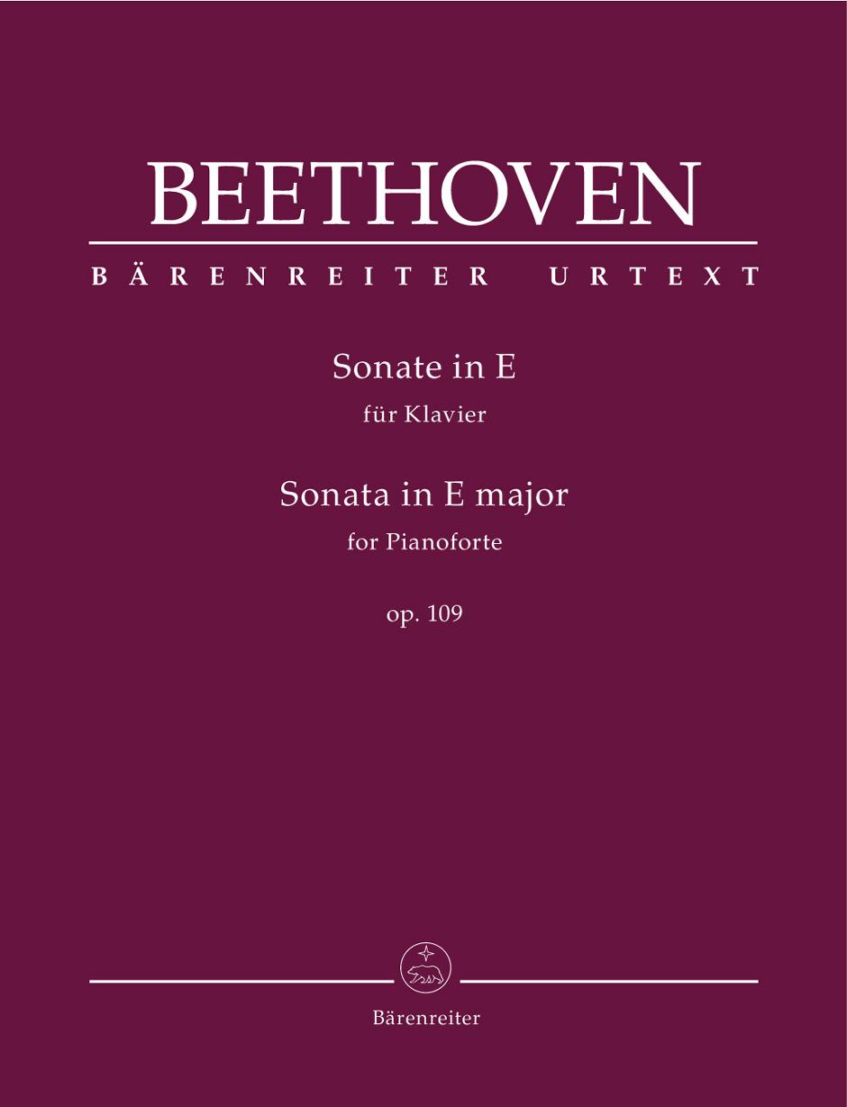 Beethoven - Piano Sonata E Major Op.109