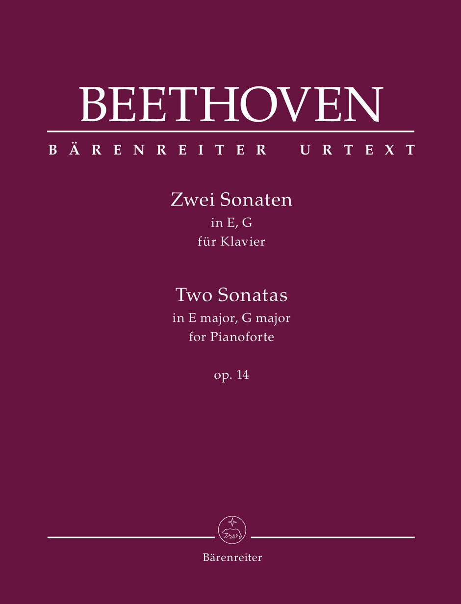 Beethoven L.v. - Zwei Sonaten Op.14 - Piano