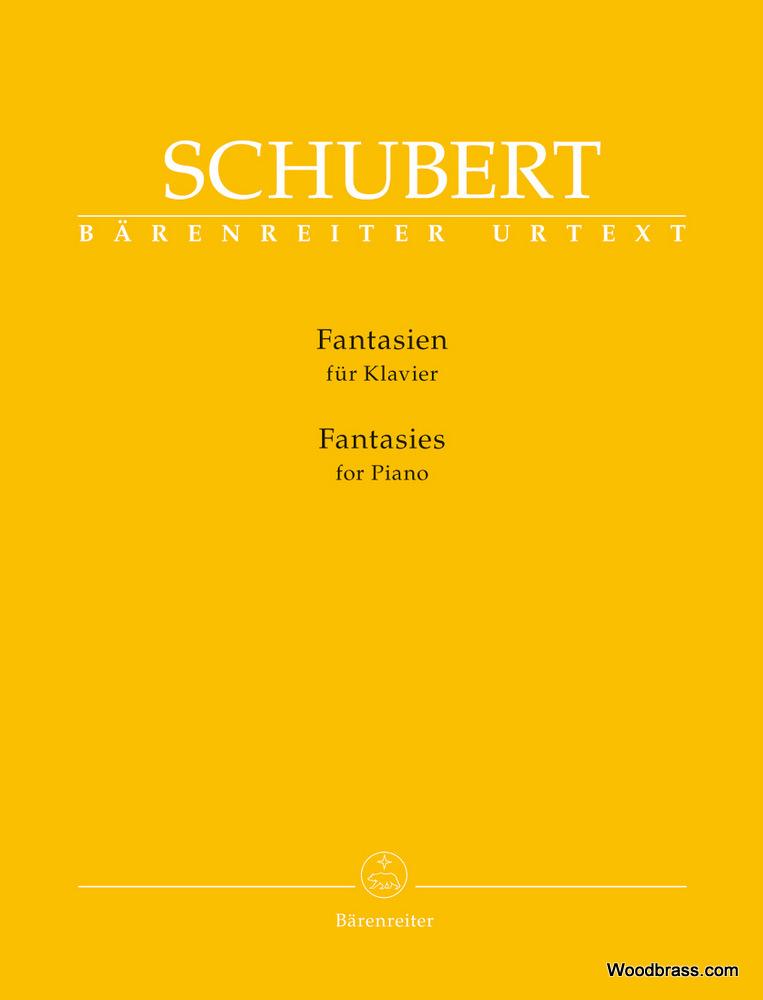 Schubert Franz - Fantaisies - Piano