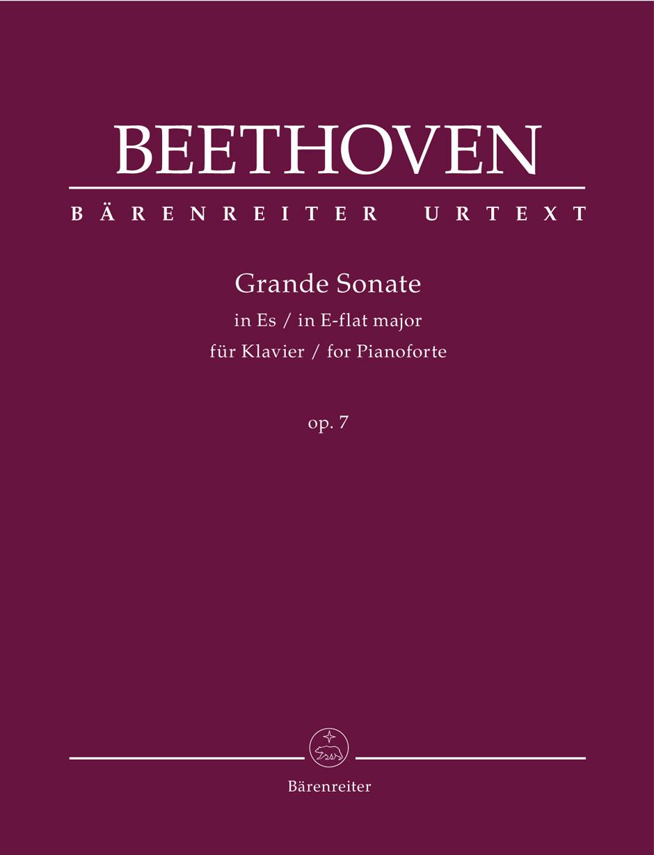 Beethoven L.v. - Grande Sonate Op.7 - Piano