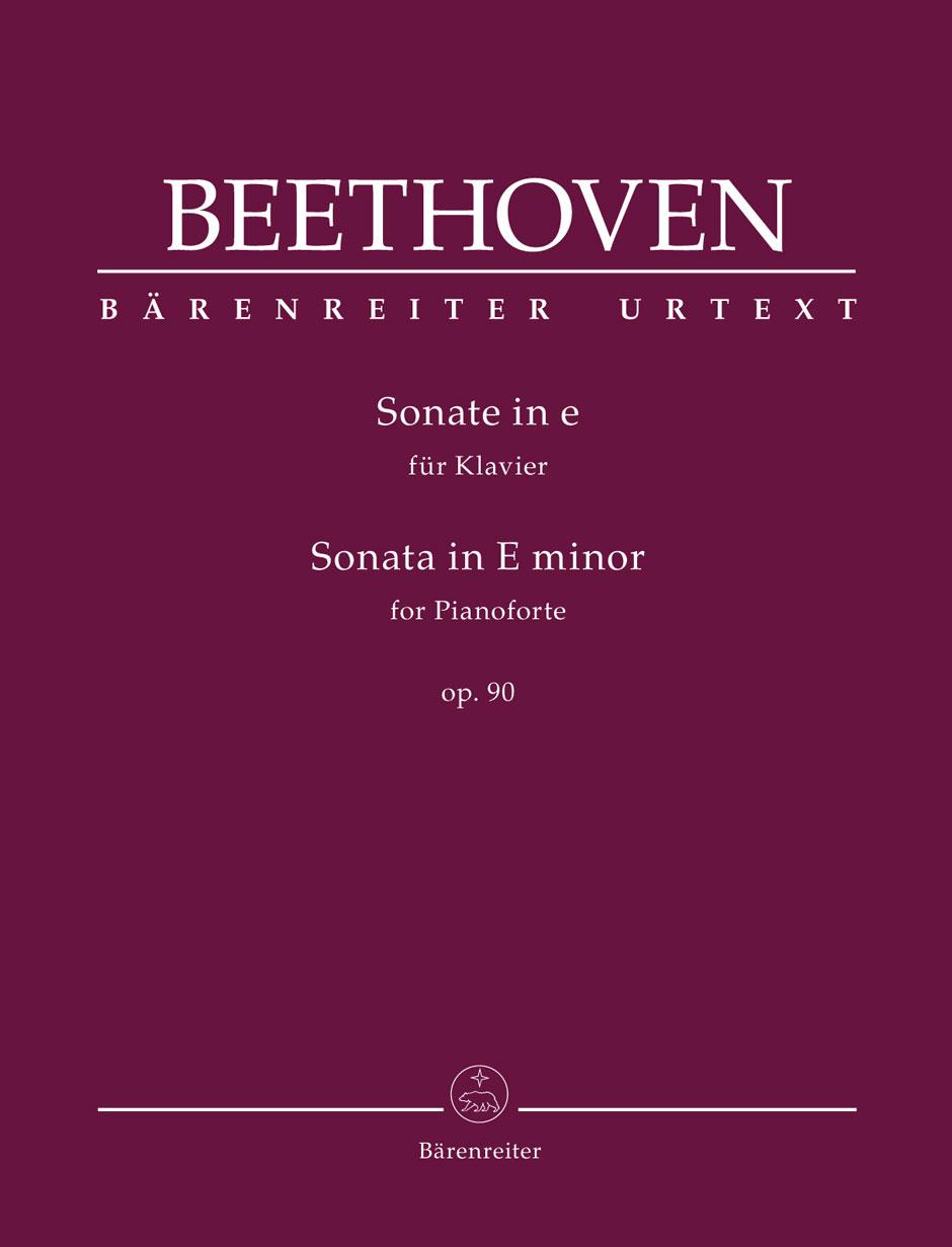 Beethoven L.v. - Sonata In E Minor Op.90 - Piano