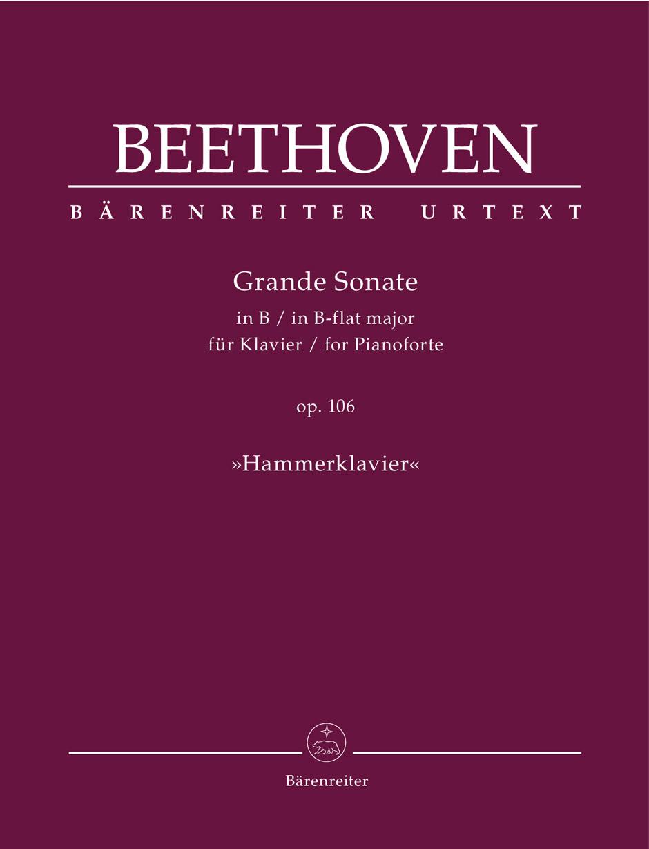 Beethoven L.v. - Grande Sonate Op.106 - Hammerklavier - Piano