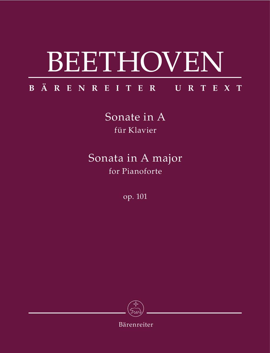 Beethoven L.v. - Sonata In A Major Op.101 - Piano