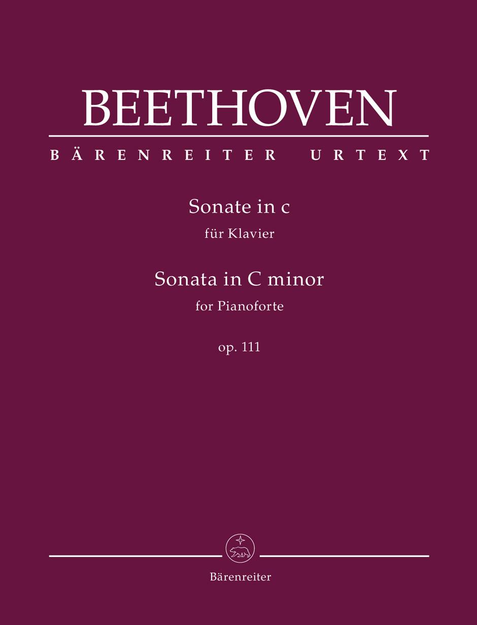 Beethoven L.v. - Sonate En Do Mineur Op.111 - Piano